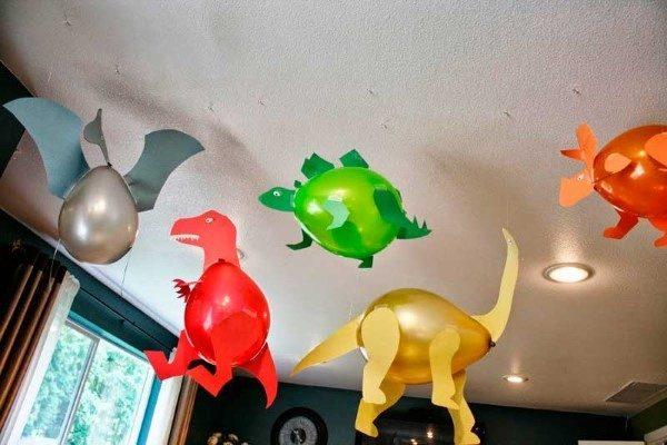 decoração dinossauro balão