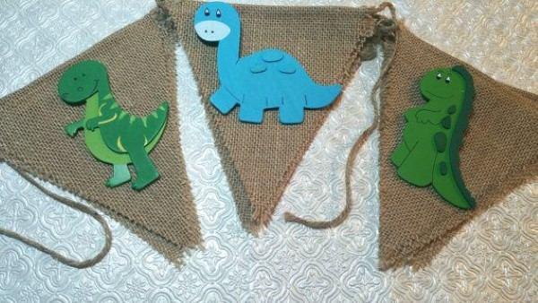 decoração tiranossauro rex