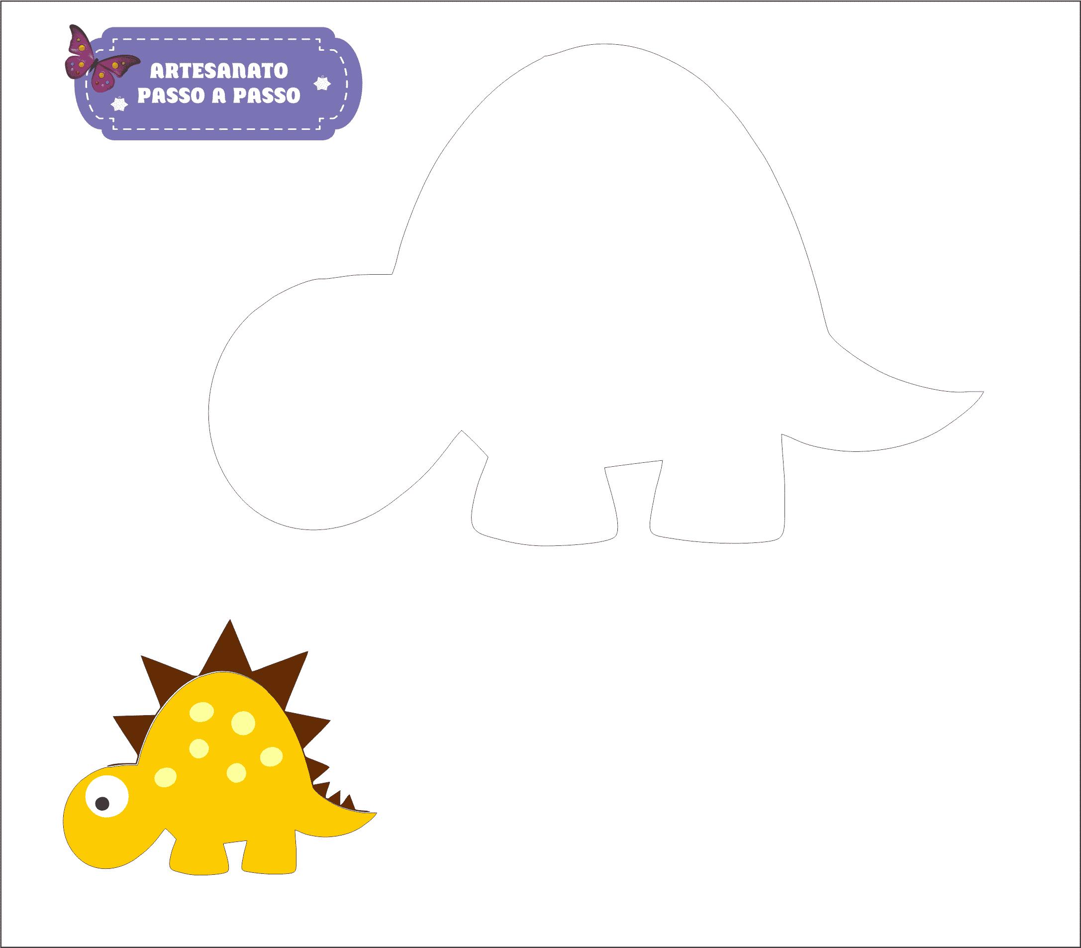 molde dinossauro 1