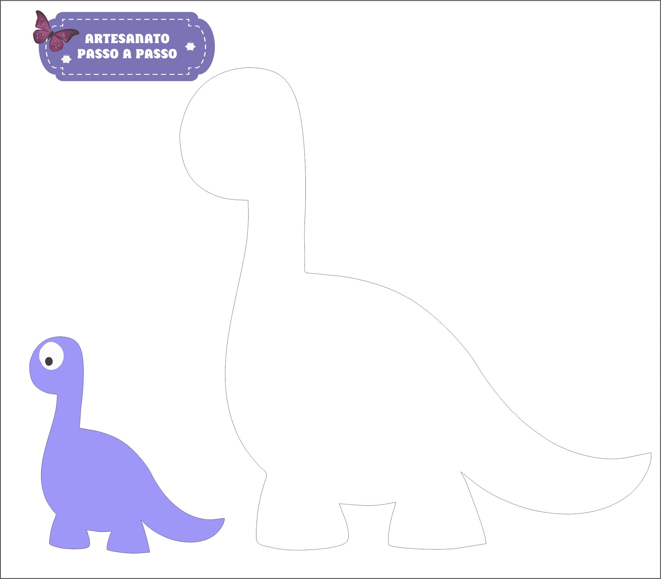 molde dinossauro 2