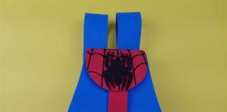 mochilinha do homem aranha de eva