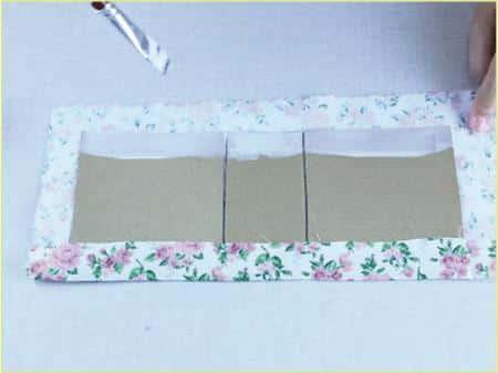 Caixinha de Papelão decorada Passo a Passo 11