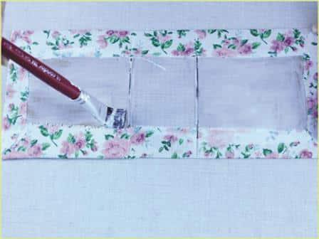 Caixinha de Papelão decorada Passo a Passo 16