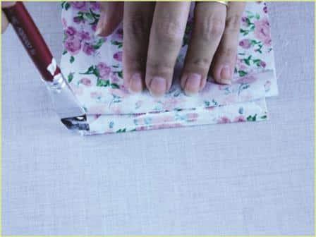 Caixinha de Papelão decorada Passo a Passo 19
