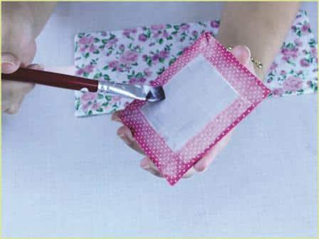 Caixinha de Papelão decorada Passo a Passo 25