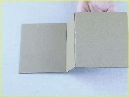 Caixinha de Papelão decorada Passo a Passo 6
