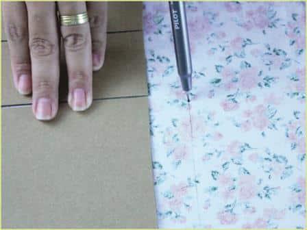 Caixinha de Papelão decorada Passo a Passo 7
