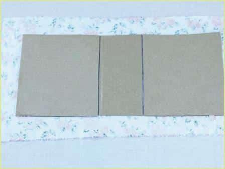 Caixinha de Papelão decorada Passo a Passo 9