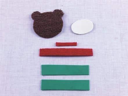 Ursinho de EVA passo a passo 3