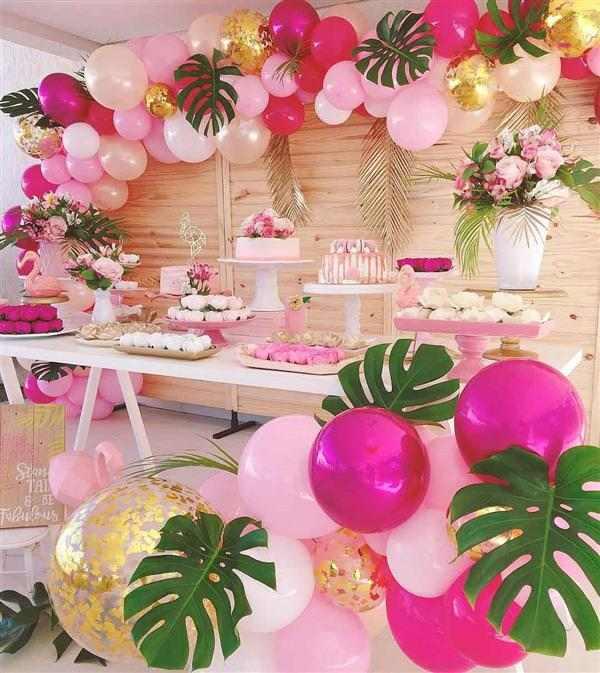 decoração Flamingo