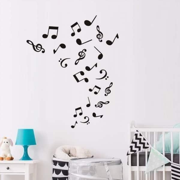 Molde De Notas Musicais Para Imprimir Artesanato Passo A Passo