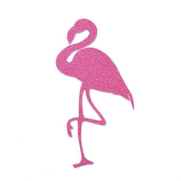 Flamingo Desenho Molde Para Imprimir Artesanato Passo A