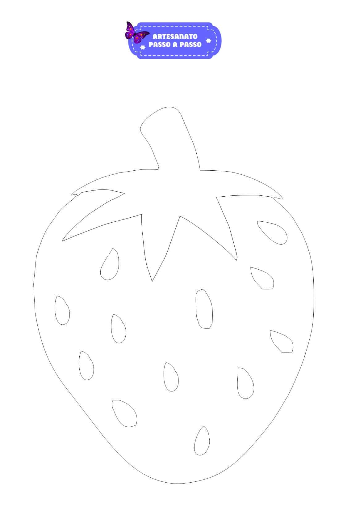Desenhos Grandes De Frutas Para Imprimir E Colorir