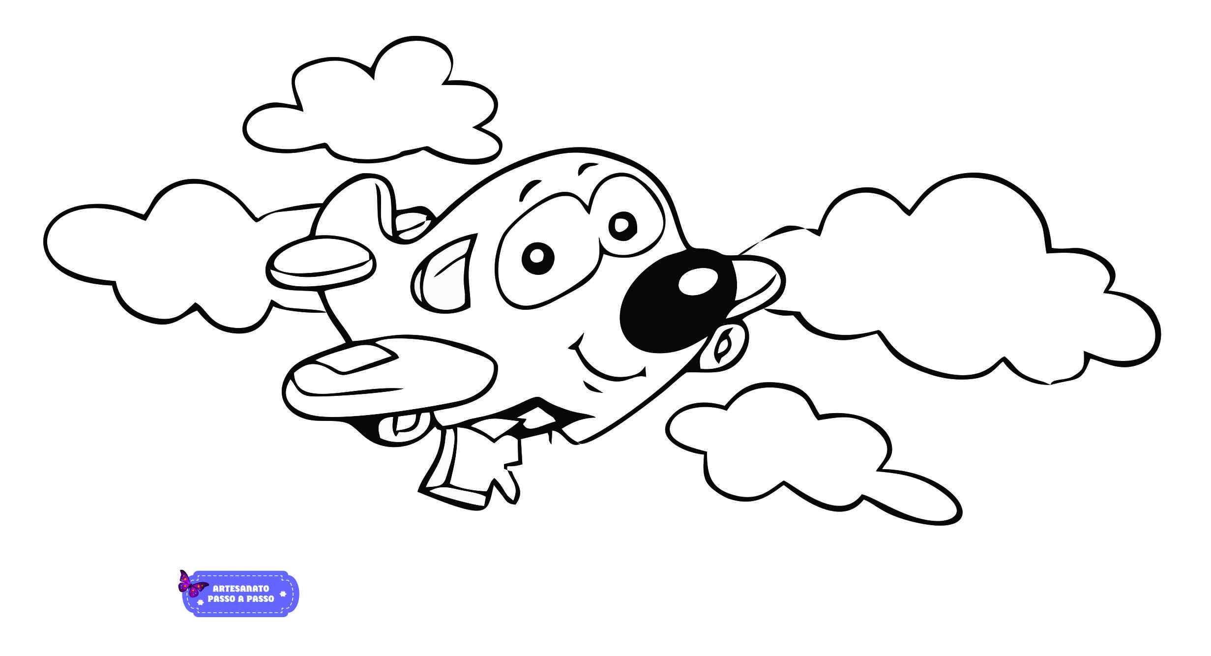 Desenhos De Animais Para Colorir: Desenhos Para Pintar E Imprimir Infantil
