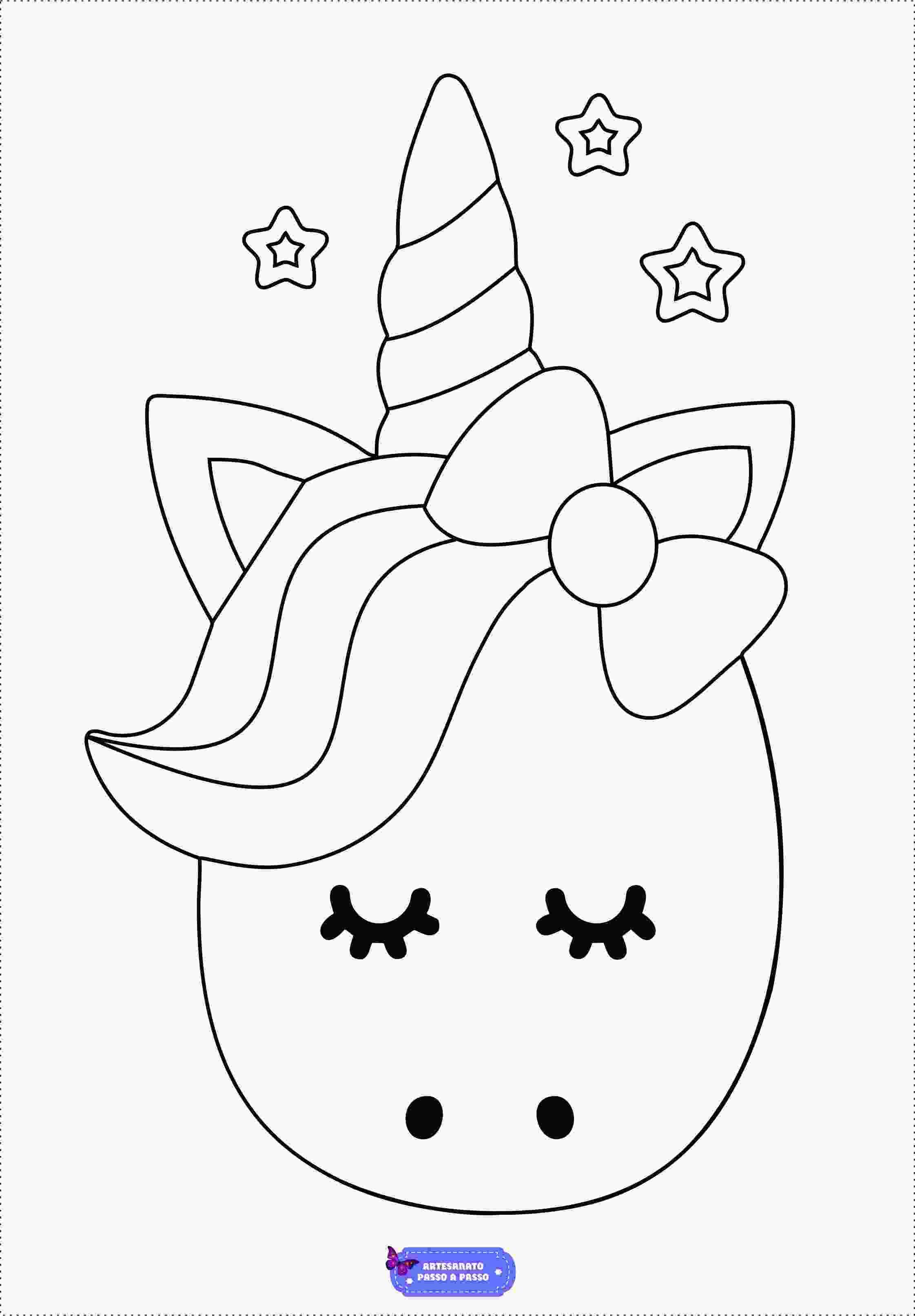 unicornio triste para colorir