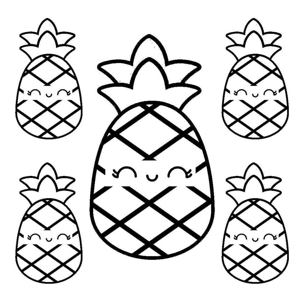kawaii abacaxi