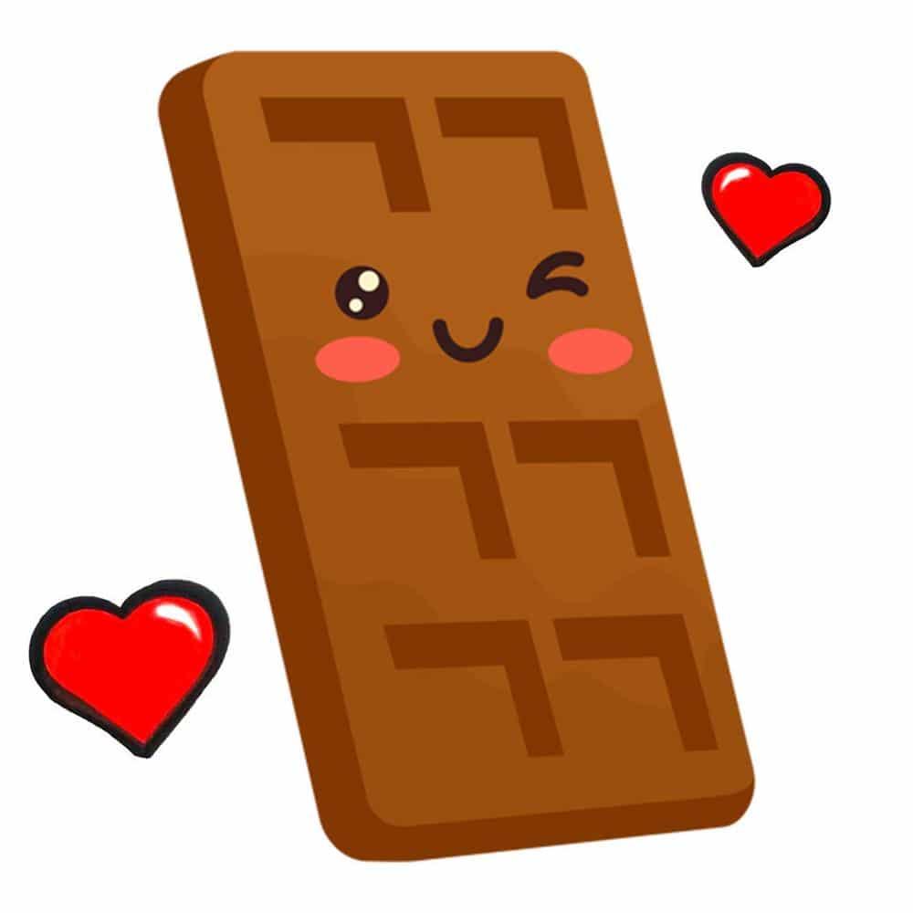 desenho de chocolate