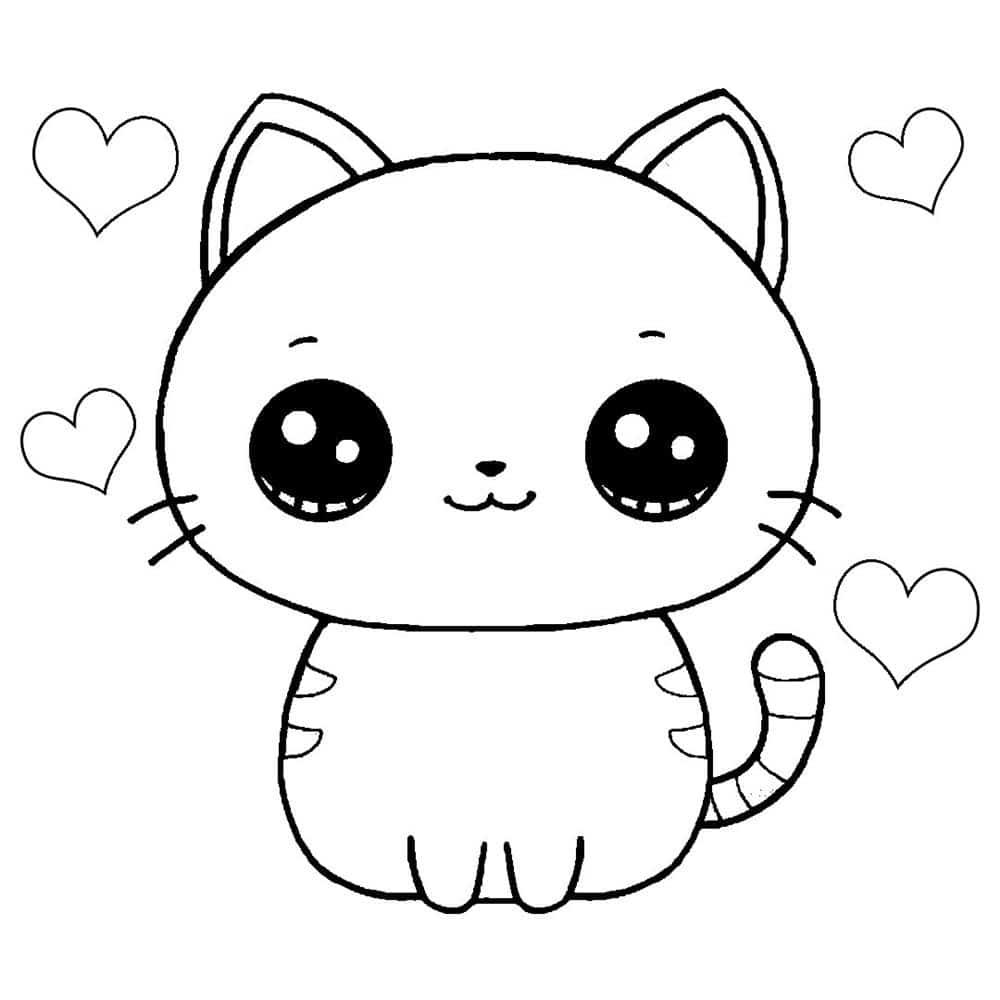 desenhos kawaii de animal