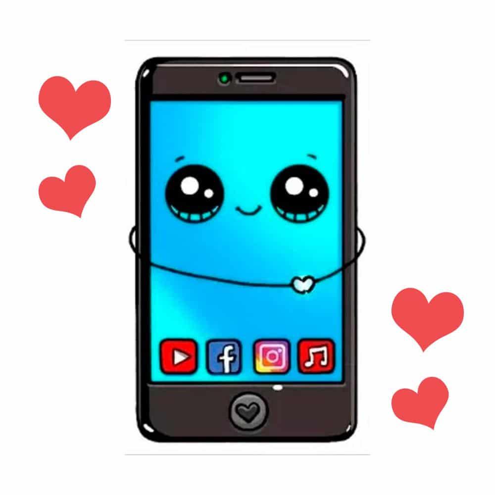 celular kawaii
