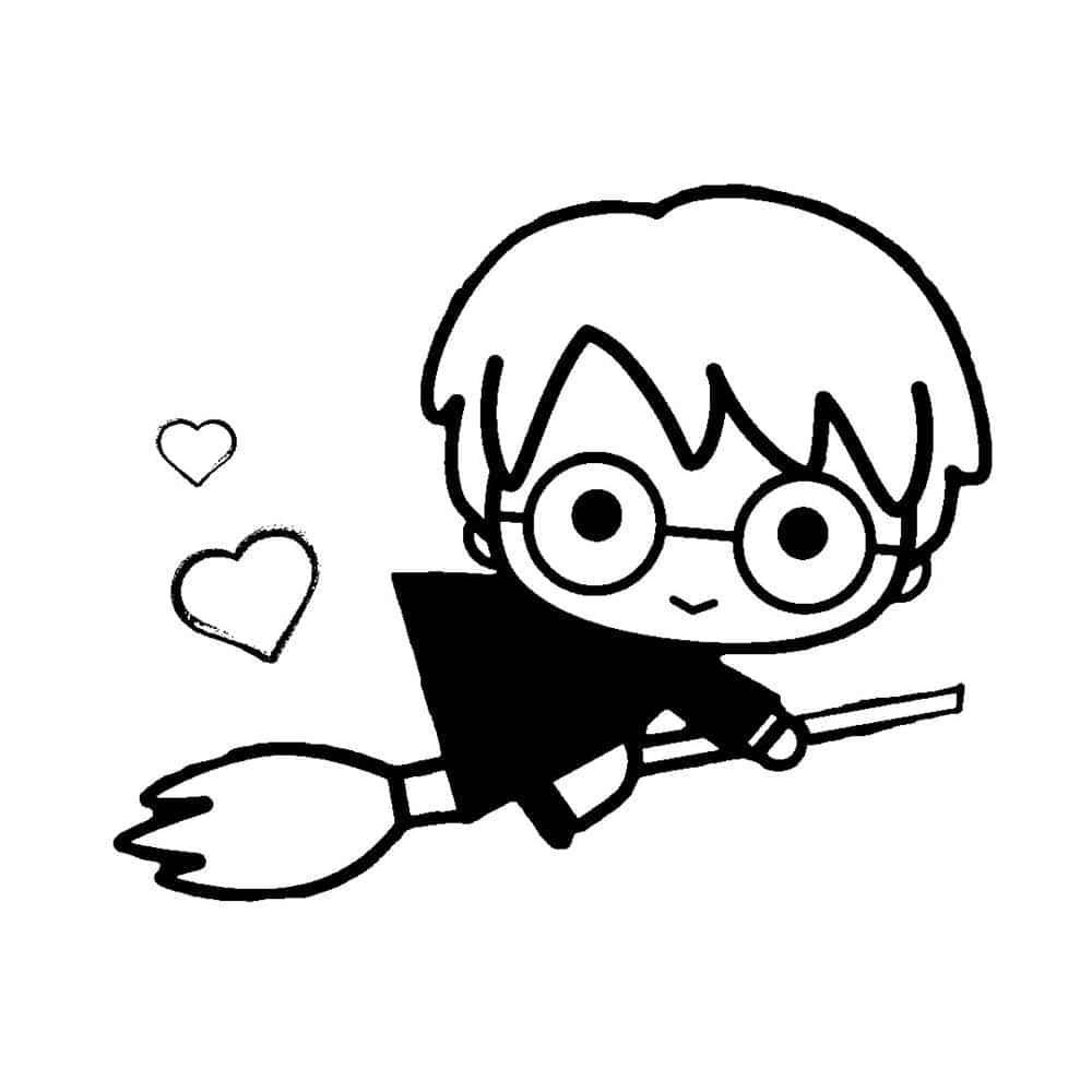 Harry Potter para colorir