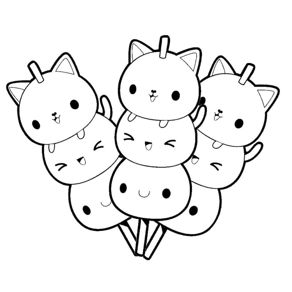 desenhos kawaii fofos