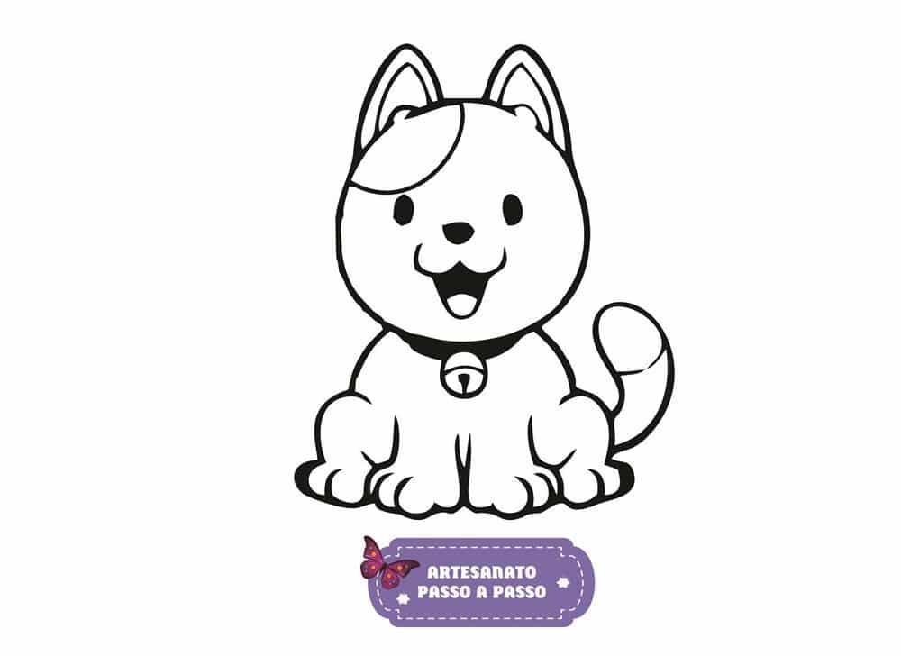 Gato Para Colorir: Desenhos Para Imprimir