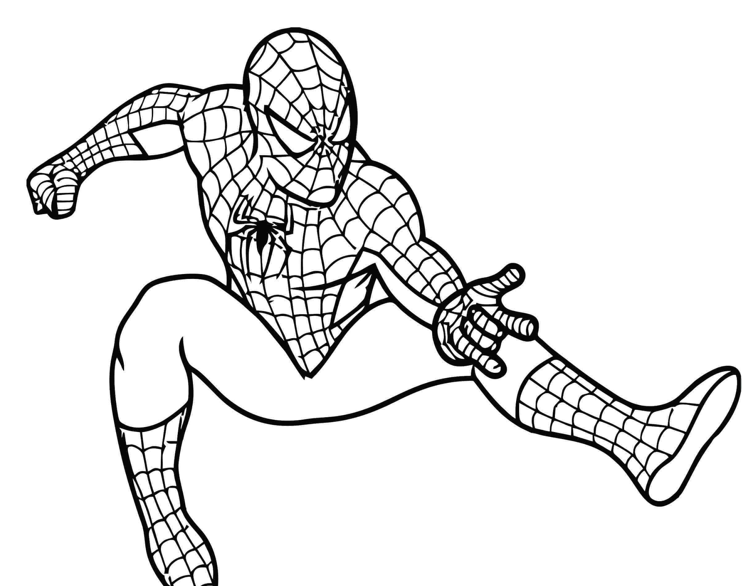 homem aranha 3 para colorir