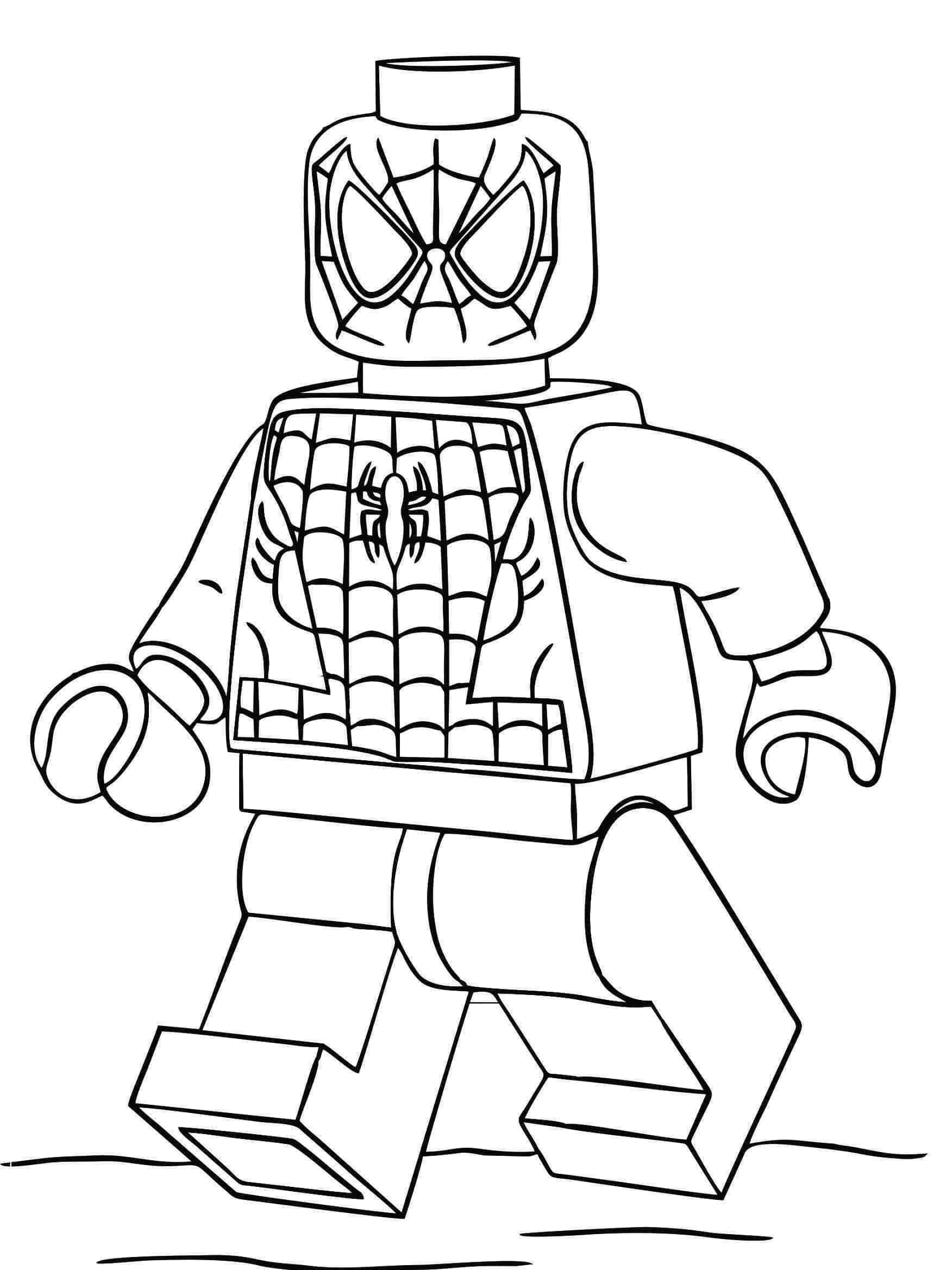 homem aranha para imprimir