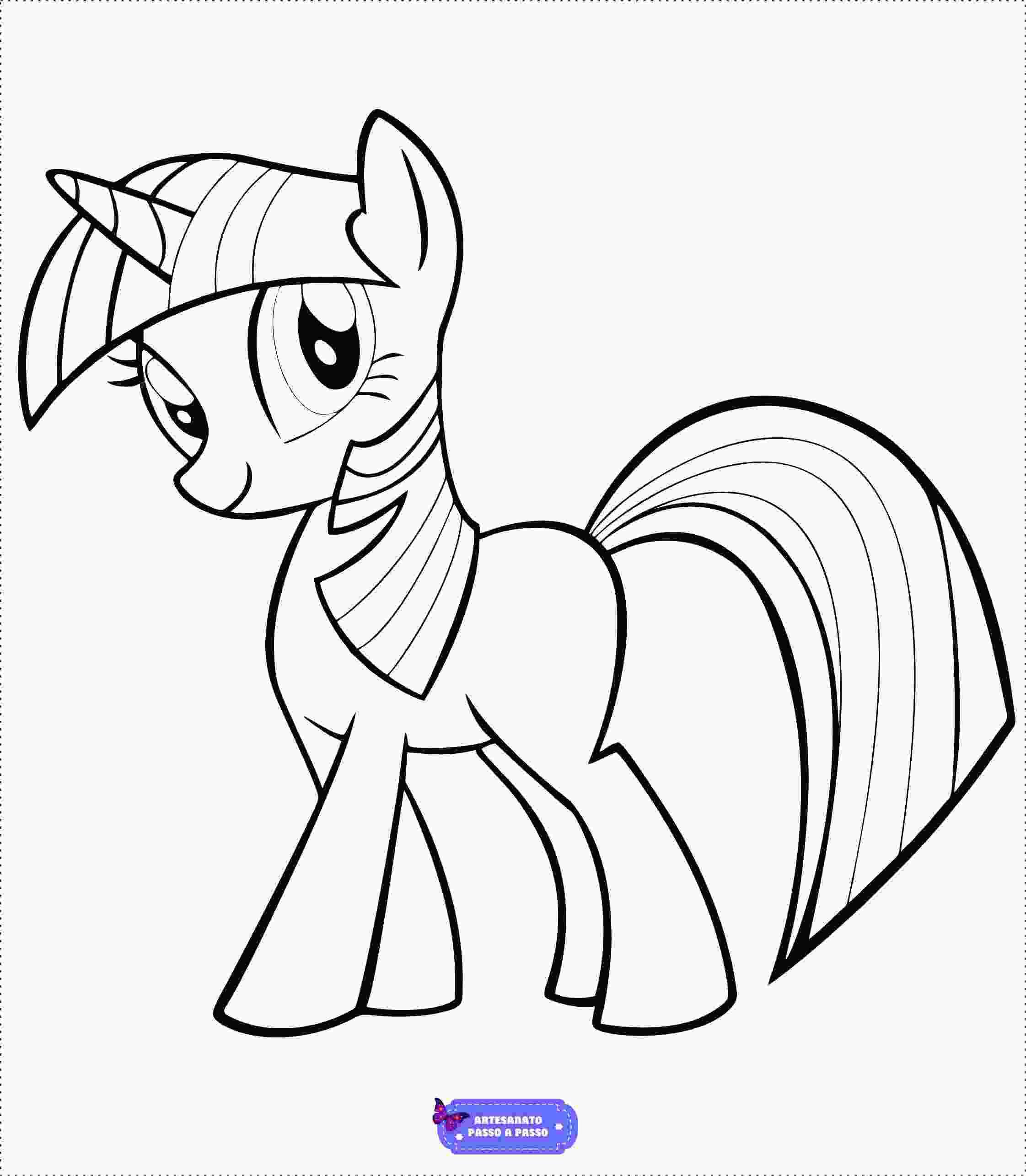 Desenhos De Unicornio Para Colorir Artesanato Passo A Passo
