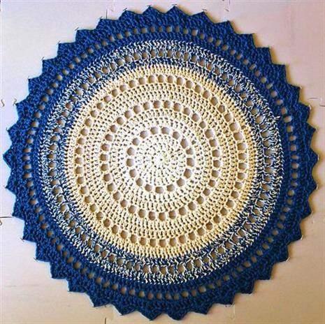 Tapete-circular-azul-e-amarelo