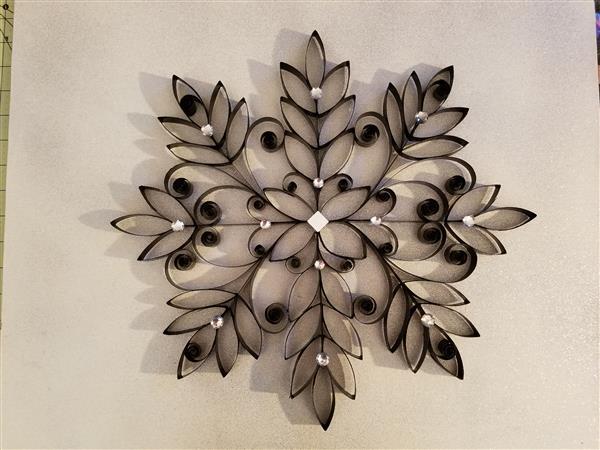 arte com papel higiênico