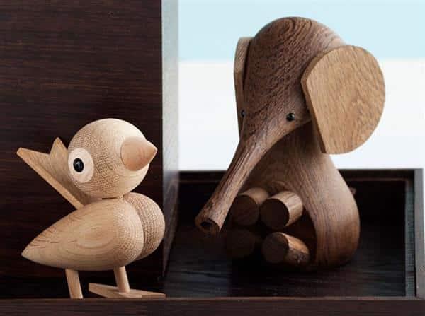 bichinhos de madeira