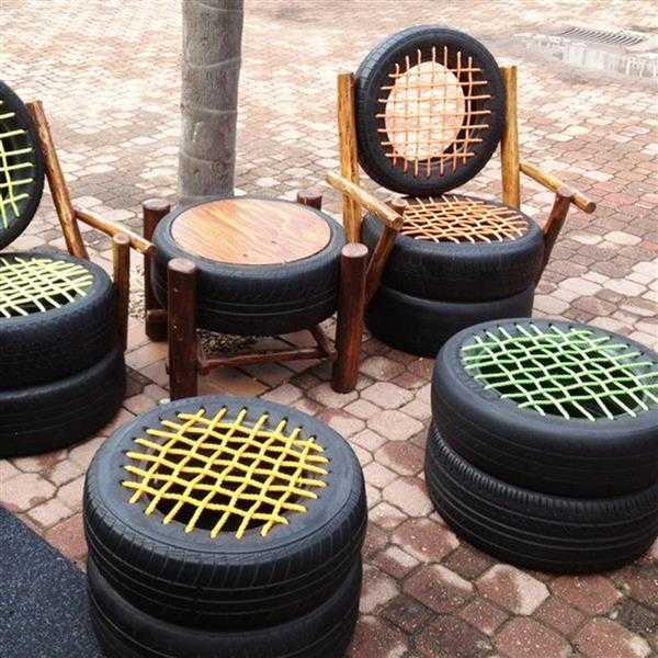 cadeiras de pneu