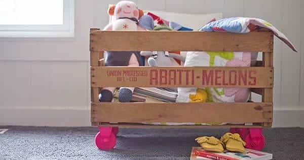caixa organizadora em madeira