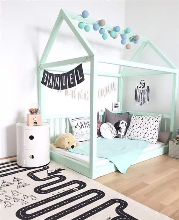 cama casinhas quarto menino