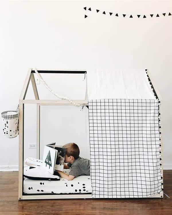 cama-montessoriana com cobertura