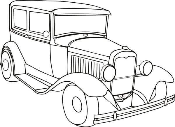 Desenhos De Carros Para Colorir Artesanato Passo A Passo