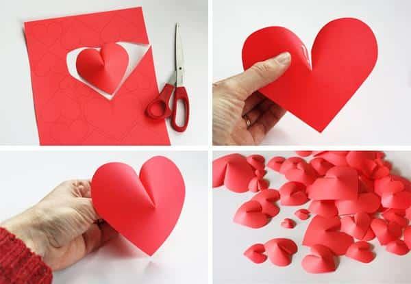 Coração de papel