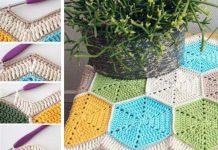 como fazer caminho de croche
