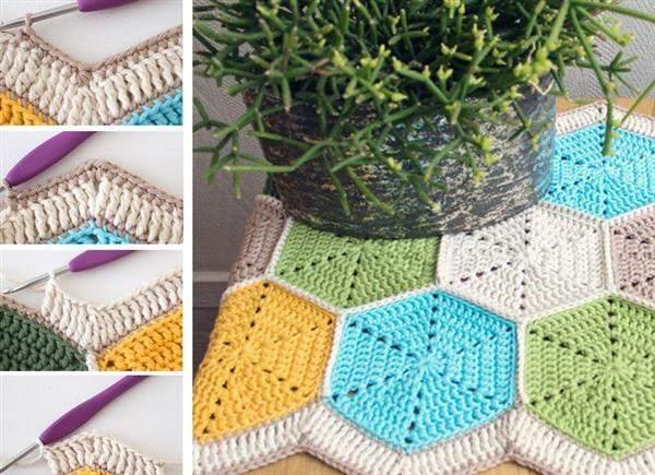 Como fazer caminho de mesa de crochê
