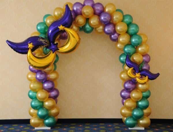 decoração de festa carnaval