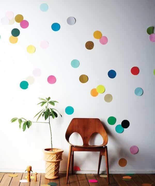 decoração de parede carnaval