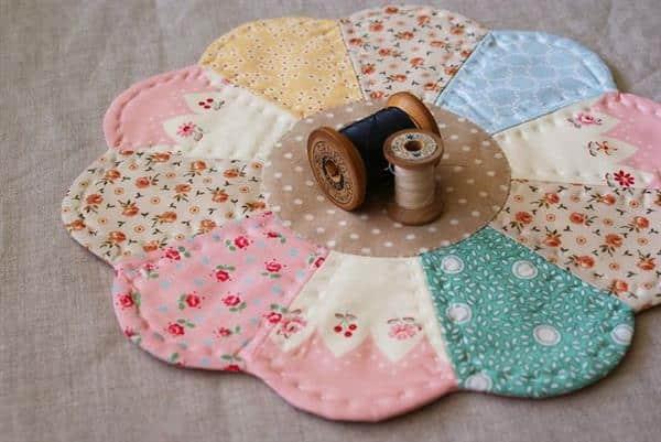 Como fazer patchwork: pano de prato, fraldas