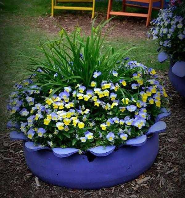 jardim-com-pneus-vaso-flores