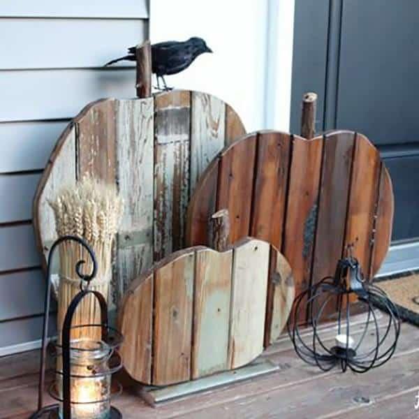 madeira de demolição para decoração