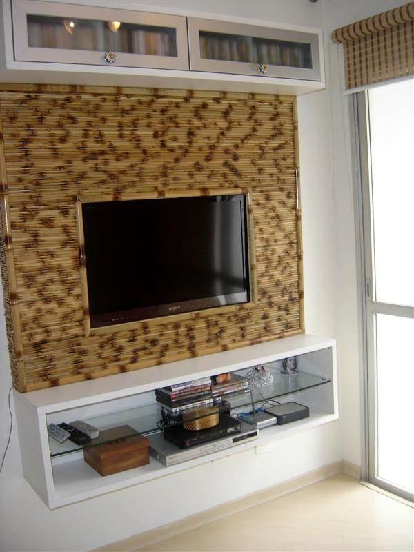 painel de bambu