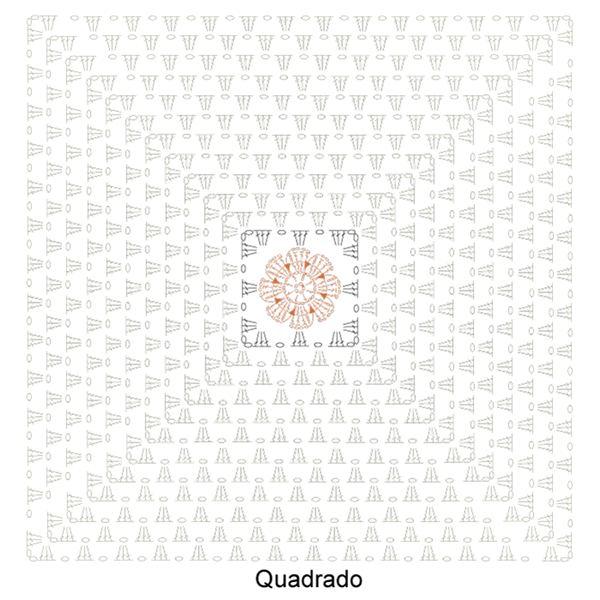 tapete quadrado