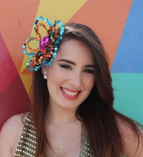 tiara de carnaval