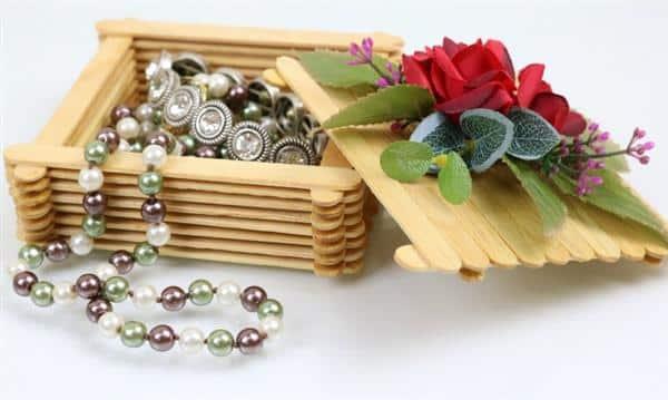 coração de lã para decorar