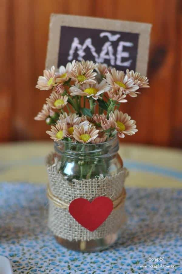 decoração de mesa para dia das mães